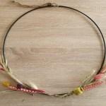 DIY   Zelf een ring met droogbloemen maken