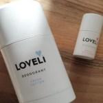 Happy to try | Loveli deodorant fresh cotton