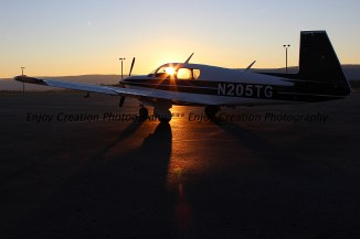 Sunrise at State College Airport