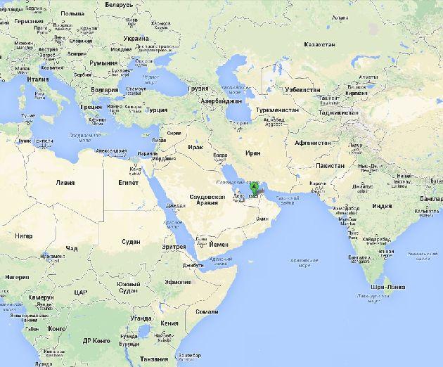 Шарджа и дубай на карте дубай отель rixos bab al bahr