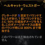 【PS4】ディアブロ3ROS【デーモンハンター】ヘルキャットウェストガード2.4.3