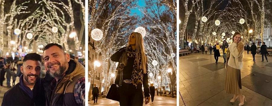 Fotos luces navidad Born instagram Born 8