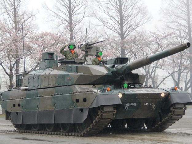 駒門 2016 10式戦車1