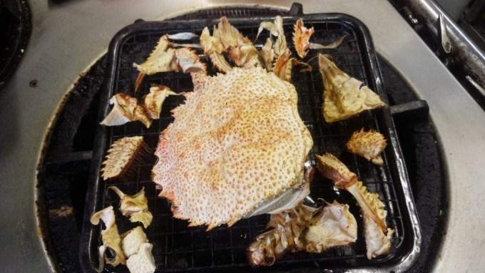 カニ酒 甲羅酒 レシピ 並べた殻
