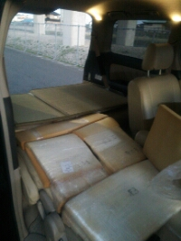 DIYした車中泊用ベッド(四代目:マットレス)