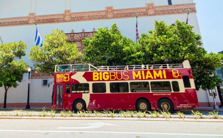Hop On Hop Off Bus Miami - Big Bus