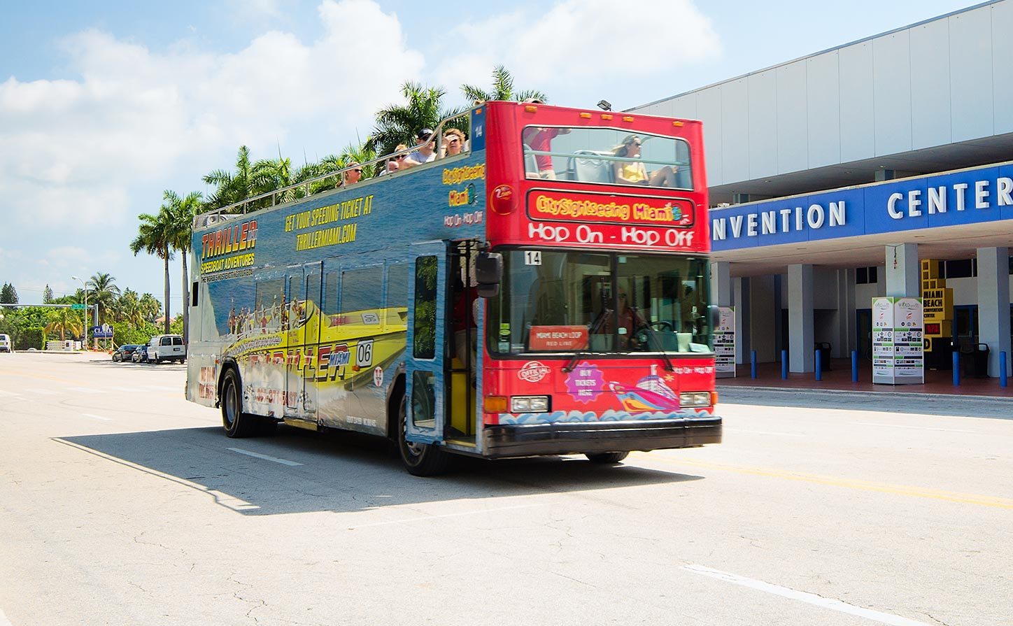 miami-sightseeing-hop-on-hop-of-double-decker-bus - enjoy