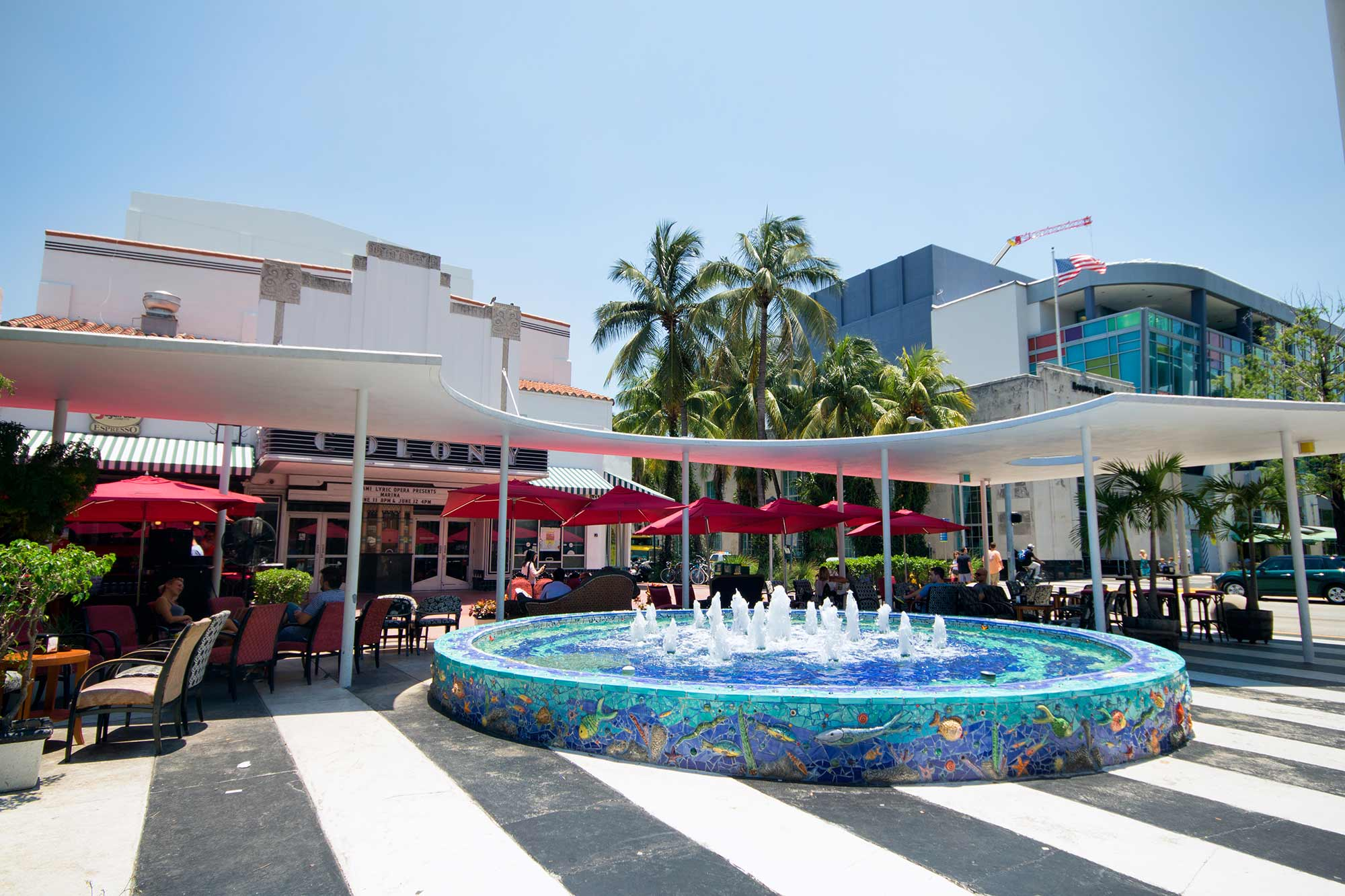 Shopping In South Beach Miami Lincoln Road Mall