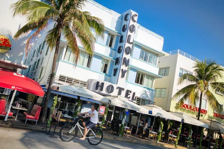 Shopping In South Beach Miami Ocean Drive