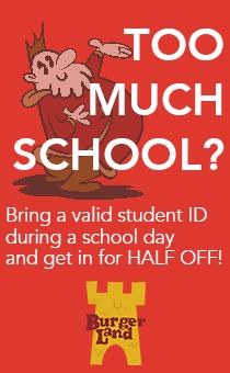 Too Much School Burgerland