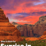 Best Places To Watch The Sunrise In Sedona Orchard