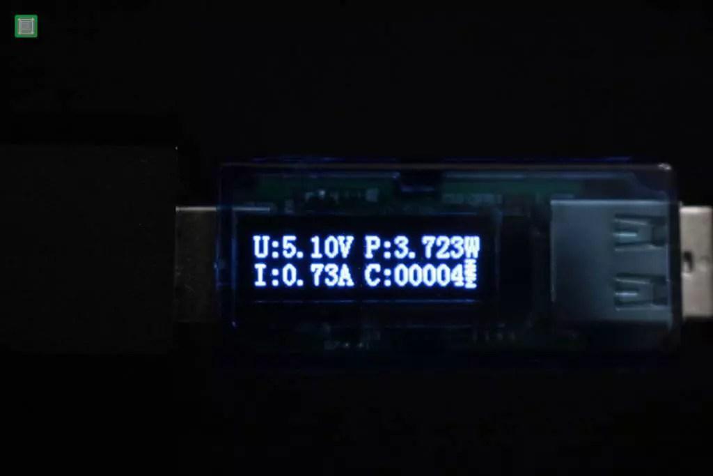 XIAOMI Redmi Note 2 (Mediatek 3060 mAh) = 0,73A