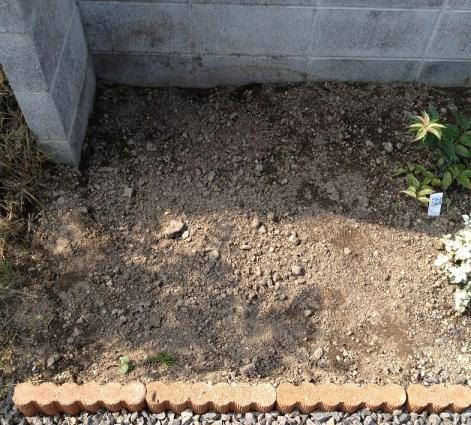 1堆肥を作る場所