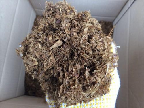 馬ふん堆肥のアップ