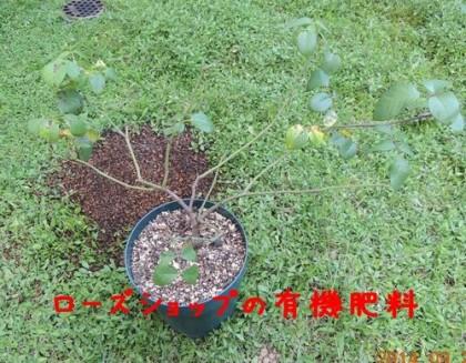 ローズショップの有機肥料のジェネラスガーデナー