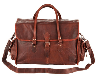 MAHI Leather Holdall Travel Bag