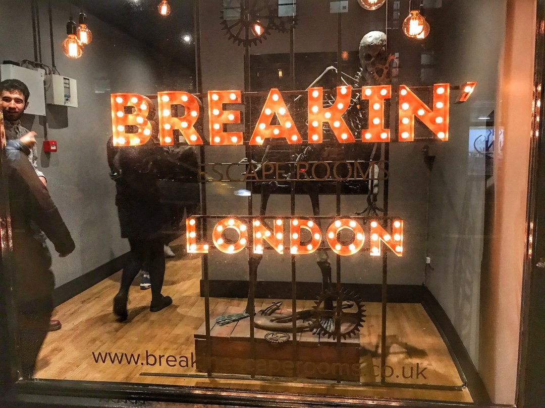 Breakin Escape Rooms London - Enjoy the Adventure