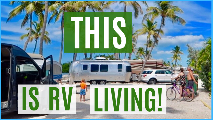 RV living full time florida keys sunshine key rv resort