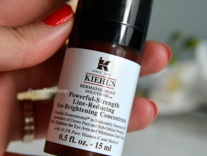 ¿Vale lo que cuesta? Powerful-strengh line-reducing Eye-brightening concentrate de Kiehl's
