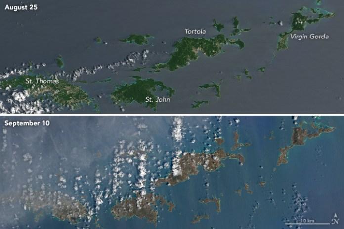 U.S Virgin Islands Irma Damage