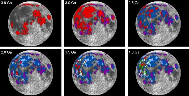 NASA moon atmosphere