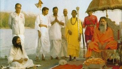 Махариши Махеш Йоги и Шанкарачарья Северной Индии