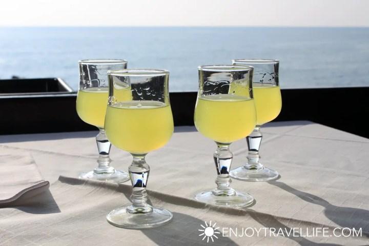 Travel Italy Amalfi Coast Positano Limoncello