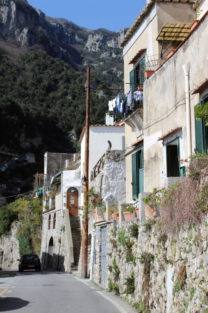 Love Affair with Positano - Laundry Line