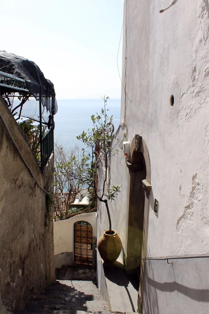 Love Affair with Positano - Streets of Positano