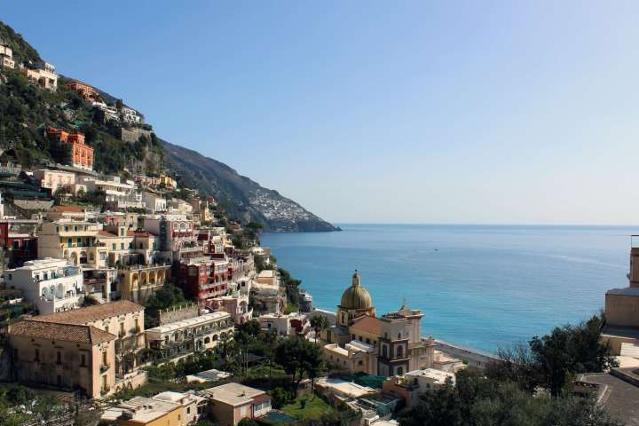 Love Affair with Positano - View of Amalfi Coast