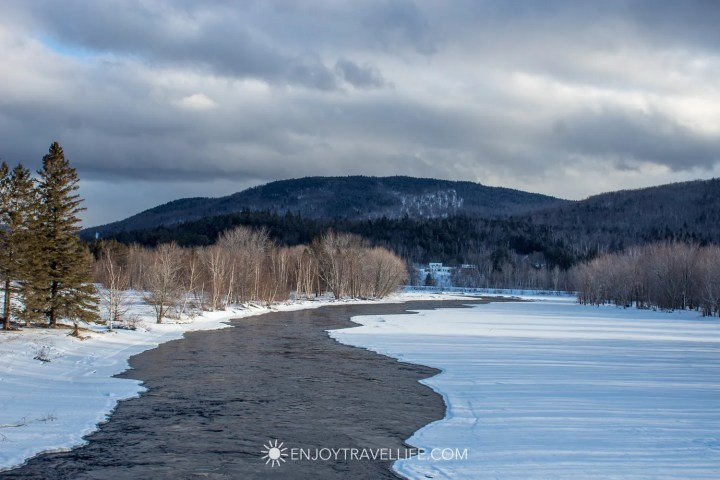 Winter in Bethel Maine | Mountain River