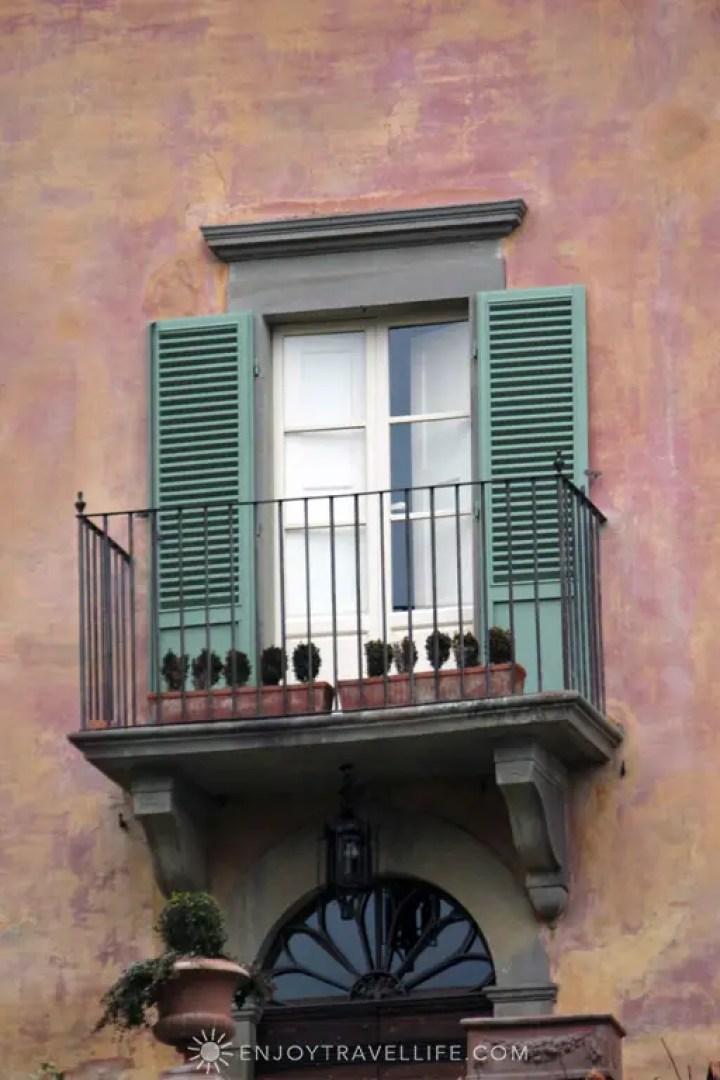 Balcony | Bramasole | Cortona | Italy
