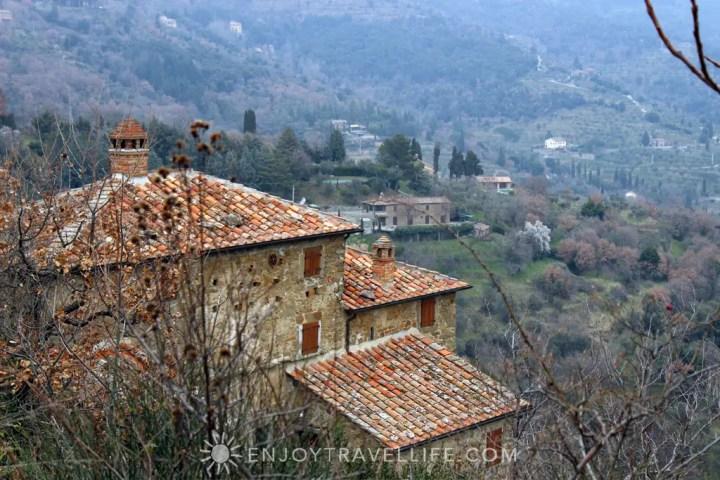 Cortona Italy | Terra Cotta Rooftop