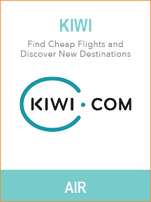 Best travel tools for trip planning - Kiwi