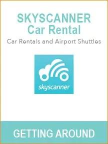 Best travel websites for trip planning - Skyscanner Car Rental