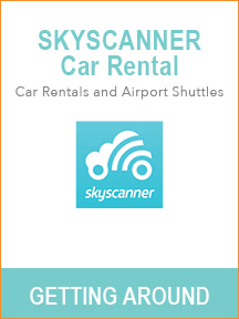 Best travel tools for trip planning - Skyscanner Car Rental
