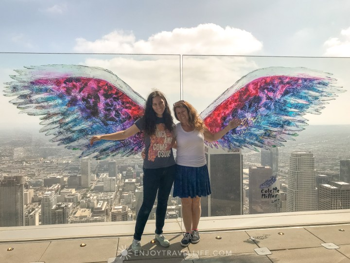 best views of downtown Los Angeles - OUE Skyspace Los Angeles Jackie Gately Enjoy Travel Life