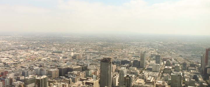 "High Above ""The City of Angels"" at Skyspace Los Angeles"