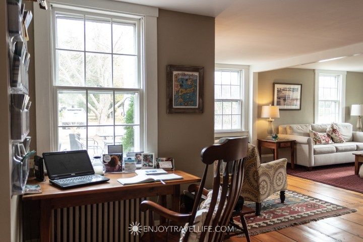 The Parsonage Inn Orleans Cape Cod Outer Cape Escape workstation