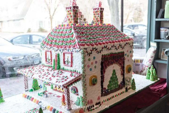 Gingerbread House Christmas in Stockbridge MA
