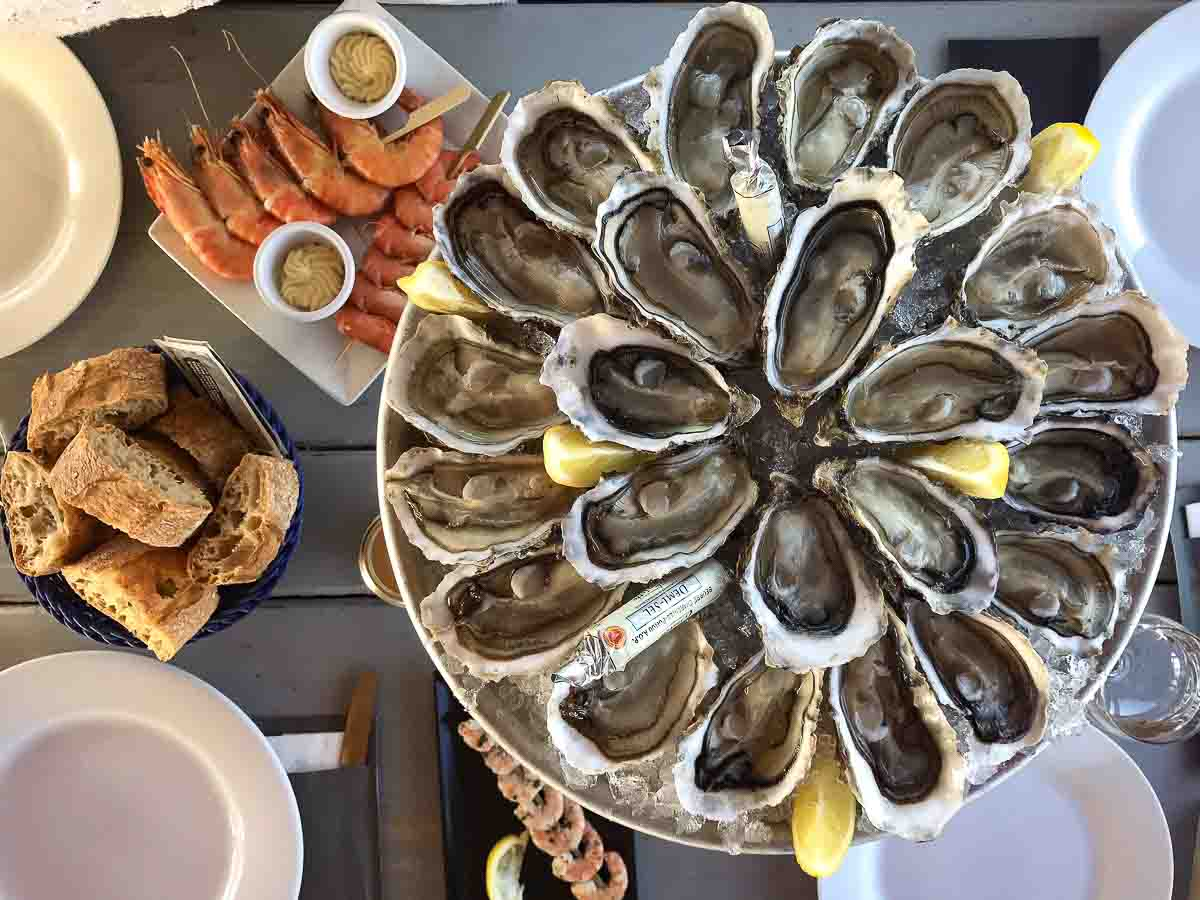 Cap Ferret Oysters and Seafood from Bordeaux France | Best Cuisines in the World