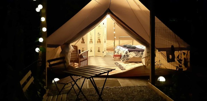 Glamping tent | cottages and cabins in nature