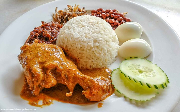 Nasi Lemak, a specialty dish from Malaysia