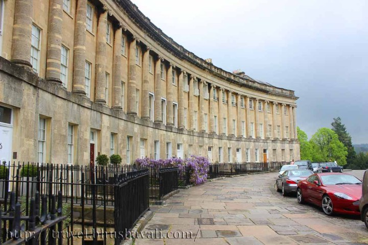 Walking Tour in Bath, England