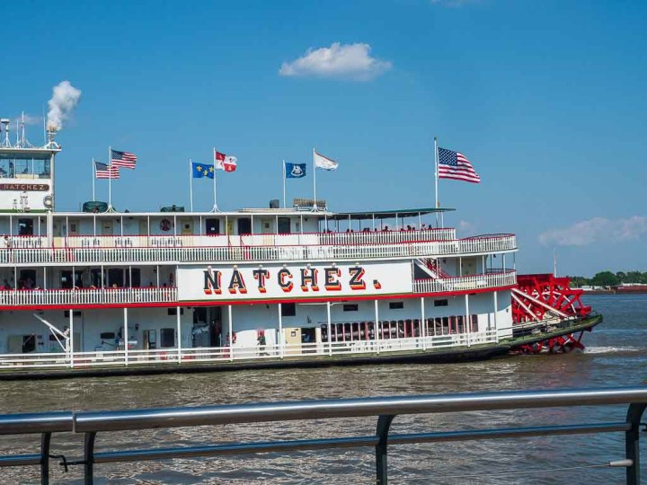 riverboat cruises on the Mississippi: The Steamboat Natchez