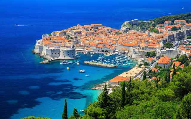 Old-City-of Dubrovnik-Croatia