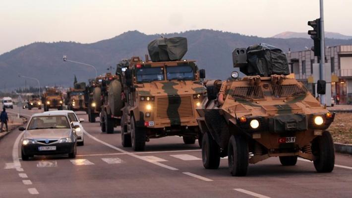 تعزيزات تركية الى الحدود مع سوريا