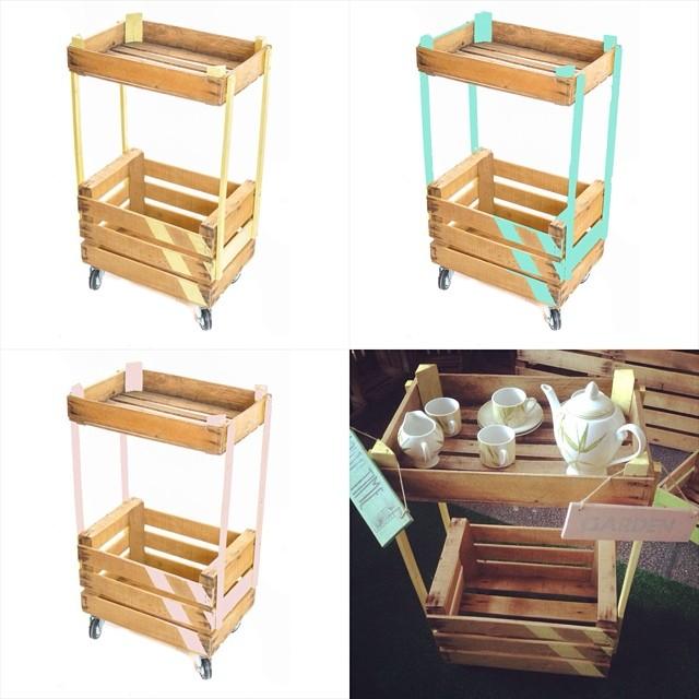 caja de fruta  Caja de madera Wooden crate cajas de