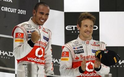 LEWIS HAMILTON WINS F1 ABU DHABI GRAND PRIX; BUTTON FINISHES 3RD ON ENKEI WHEELS!