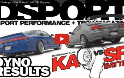 DSPORT Magazine KAvSR Challenge Dyno Battle